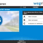 Bus online oefenen examentraining RV1 Verkeer