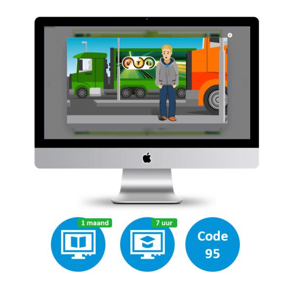 Vrachtwagen Online Small Code 95
