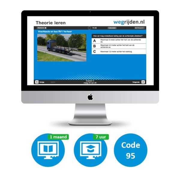 Vrachtwagen Online Small met Code 95